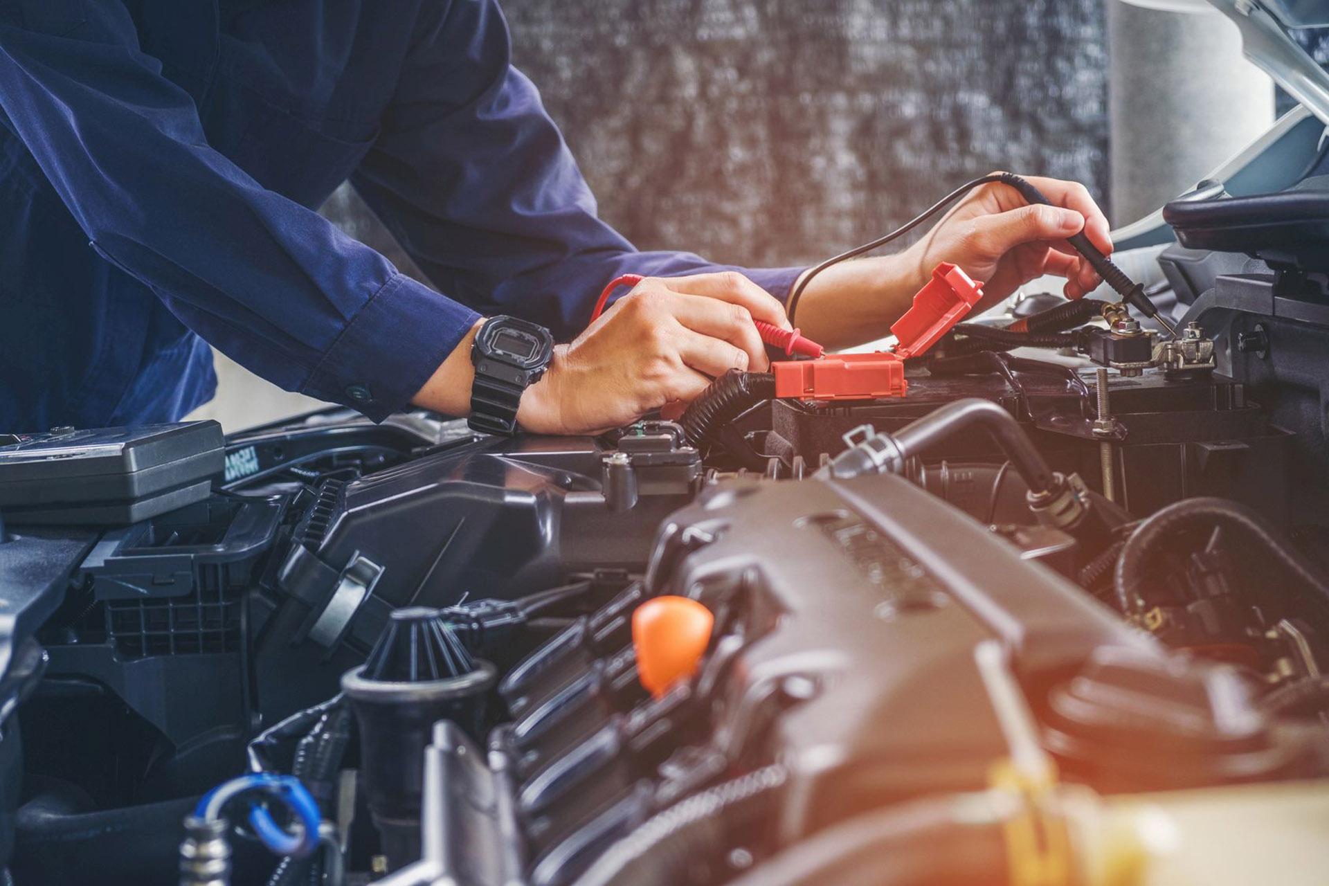 Diagnostyka silników, przeglądy i naprawy